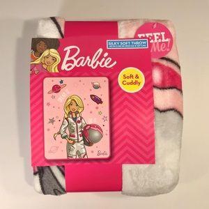 Brand New Barbie Kids Blanket 40x50